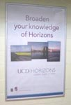 Advertising Campaigns in Schools and Colleges - UCD Horizons Campaign